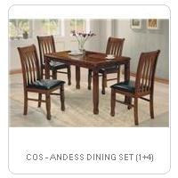 COS - ANDESS DINING SET (1+4)